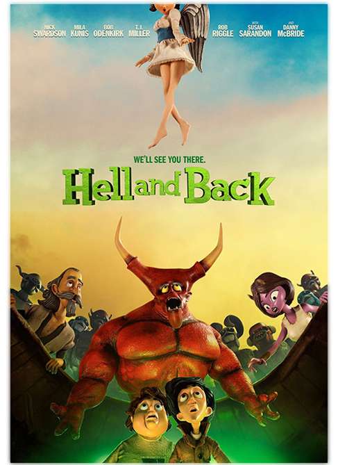 انیمیشن  Hell and Back 2015