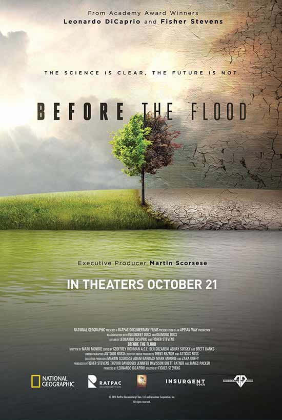 مستند BEFORE THE FLOOD 2016